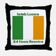 Irish Lover 24 Hour Service Throw Pillow
