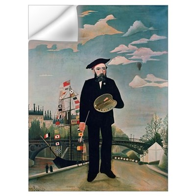Self Portrait, from L'ile Saint-Louis, 1890 (oil o Wall Decal