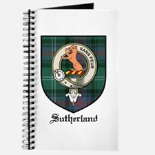 Sutherland Clan Crest Tartan Journal