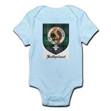Sutherland Clan Crest Tartan Infant Creeper