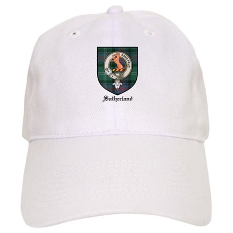 Sutherland Clan Crest Tartan Cap