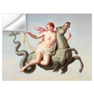 The Escape of Galatea (panel) Wall Decal