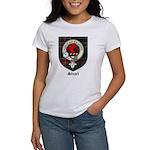 Stuart Clan Crest Tartan Women's T-Shirt