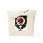 Stuart Clan Crest Tartan Tote Bag