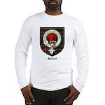 Stuart Clan Crest Tartan Long Sleeve T-Shirt