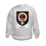 Stuart Clan Crest Tartan Kids Sweatshirt