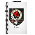 Stuart Clan Crest Tartan Journal