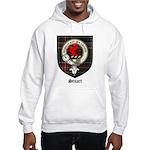 Stuart Clan Crest Tartan Hooded Sweatshirt