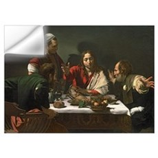 The Supper at Emmaus, 1601 (oil and tempera on can Wall Decal