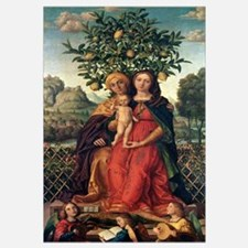 The Virgin and Child with St Anne, 1510-18 (oil on
