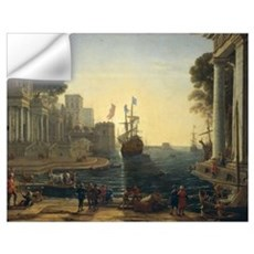 Ulysses Returning Chryseis to her Father (oil on c Wall Decal
