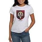 Stewart Clan Crest Tartan Women's T-Shirt