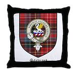 Stewart Clan Crest Tartan Throw Pillow