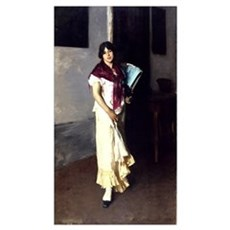 A Venetian woman, 1882 (oil on canvas) Poster