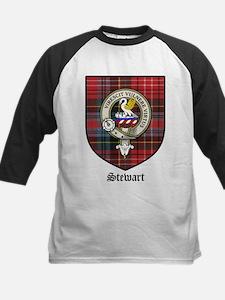 Stewart Clan Crest Tartan Tee