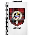 Stewart Clan Crest Tartan Journal