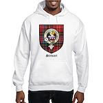 Stewart Clan Crest Tartan Hooded Sweatshirt