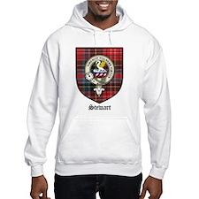 Stewart Clan Crest Tartan Hoodie