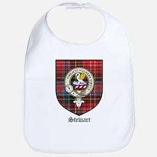 Stewart Clan Crest Tartan Bib