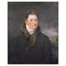 Portrait of Greswold Lewis (d.1819) of Malvern Hal Poster