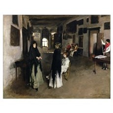 A Venetian Interior, c.1880-82 (oil on canvas) Poster