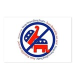 Ban GOP Sex Postcards (Package of 8)