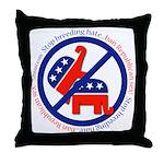 Ban Republican Sex Throw Pillow