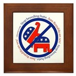Ban GOP Sex Framed Tile