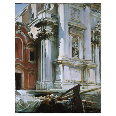 Church of St. Stae, Venice, 1913 (oil on canvas) Poster