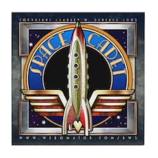 """Space Cadet"" Tile Coaster"
