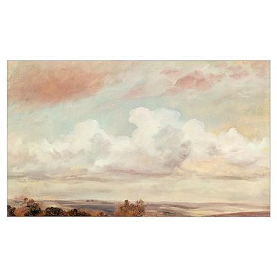 Extensive Landscape (oil on canvas) Poster