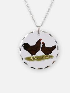 Buckeye Chickens Necklace