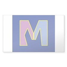 M is for Traditional Marriage Decal