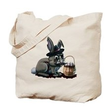 Zombie Bunny Tote Bag