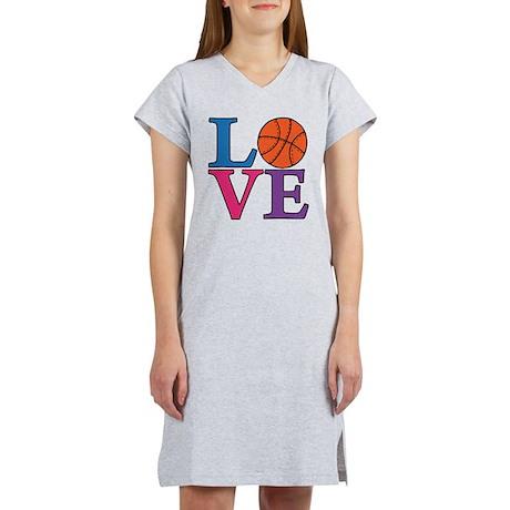 Basketball LOVE Women's Nightshirt