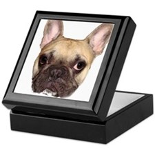 Fawn Black Mask French Bulldog Keepsake Box