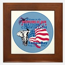 Republican Convention Framed Tile