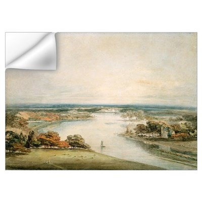 The Thames from Richmond Wall Decal