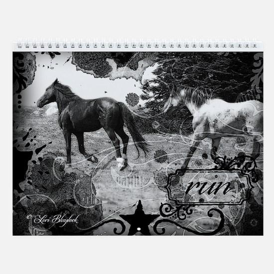 Wild Horse Wall Calendar