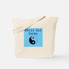 Avoid Bad Karma Yin Yang Tote Bag