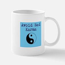Avoid Bad Karma Yin Yang Mug