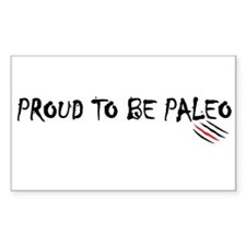 Proud to be Paleo Decal
