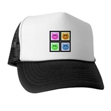Pop Art Pigs Trucker Hat