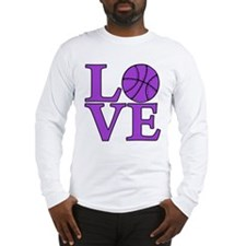 Basketball LOVE Long Sleeve T-Shirt