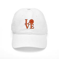 Basketball LOVE Baseball Cap