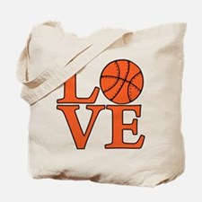 Basketball LOVE Tote Bag (both sides)