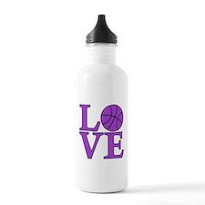Basketball LOVE Water Bottle