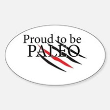 Paleo Proud Decal