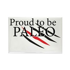 Paleo Proud Rectangle Magnet