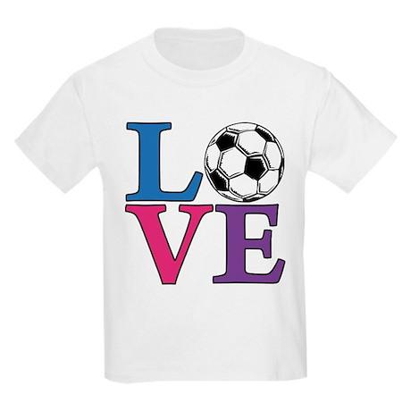 Soccer LOVE Kids Light T-Shirt